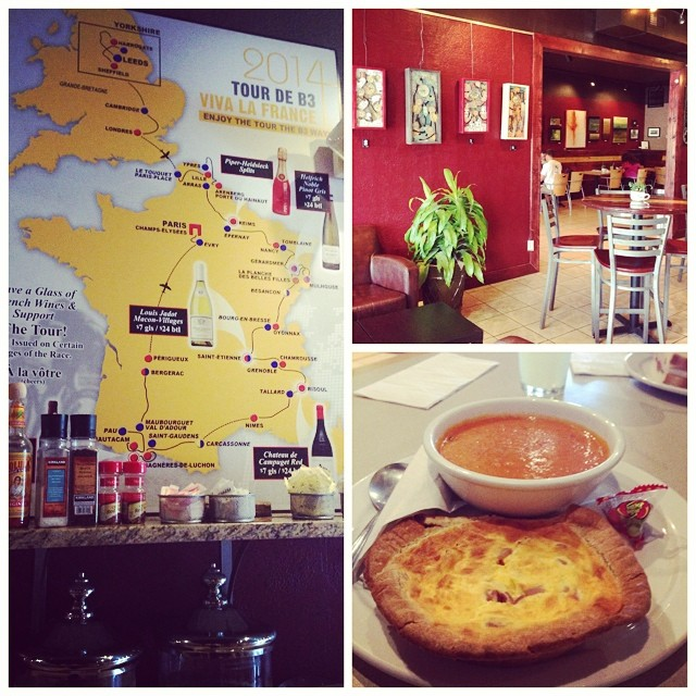 IDEA: Grab lunch and watch the Tour de France at Bike, Beans and Bordeaux in Audubon Park.