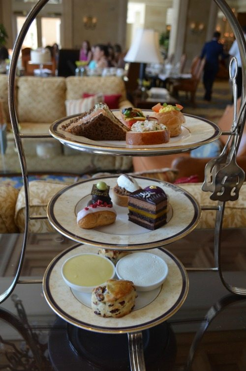 High Tea at The Ritz-Carlton