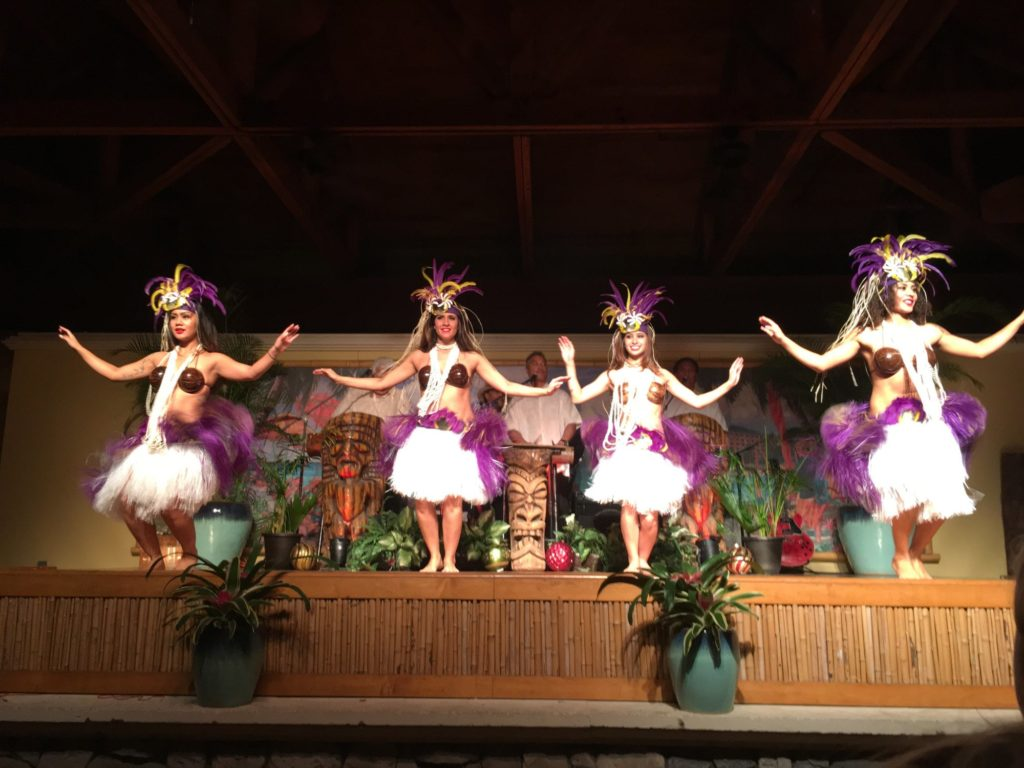 Catch a luau at Loews Royal Pacific Resort