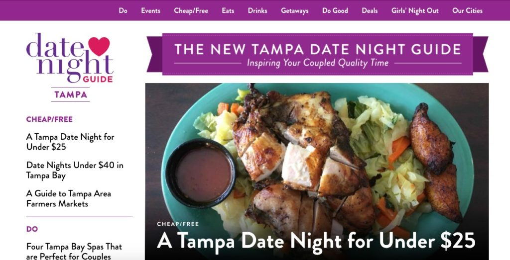 tampa date night guide