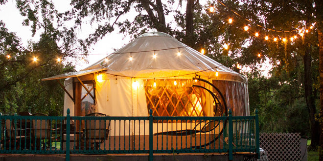 Staycation Spend The Night In A Romantic Yurt In Geneva