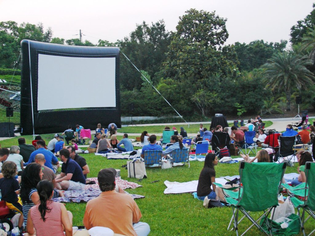 Leu Gardens movie night