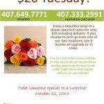 In Bloom Florist's $20 Tuesdays