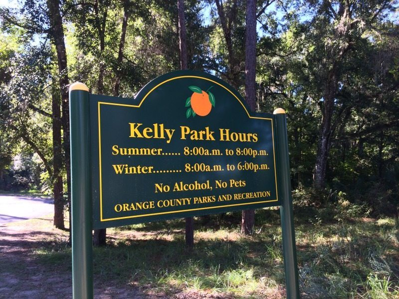 kelly park hours