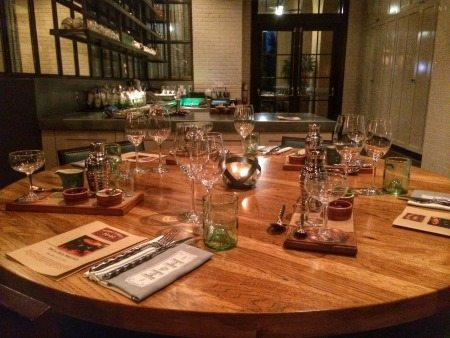 The H&H Chef's Table Experience happens at a private space with its own plating kitchen.