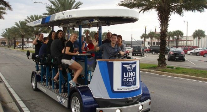 Two passes to Limo Cycle Pub Crawl, Thursdays at 8pm or Sundays at 12:30pm or 3pm.