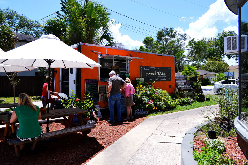 Uptown Scratch Kitchen St Augustine food truck