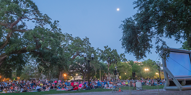 Orlando Events - Movieola in Lake Eola Park