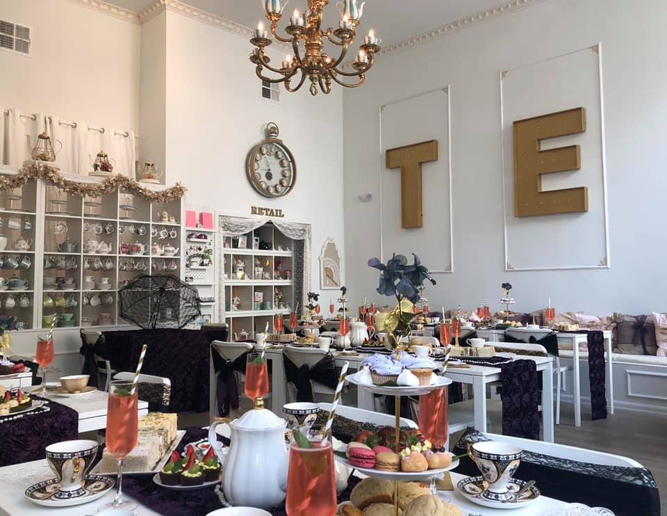 The Tea Room Experience Orlando - Girls' Night Out Ideas