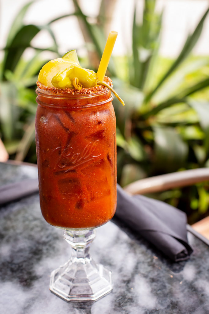 Bloody Mary at Maxine's on Shine